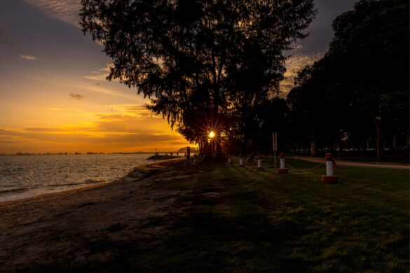 Experience beautiful sunrise from these sunrise points in Singapore, Asia