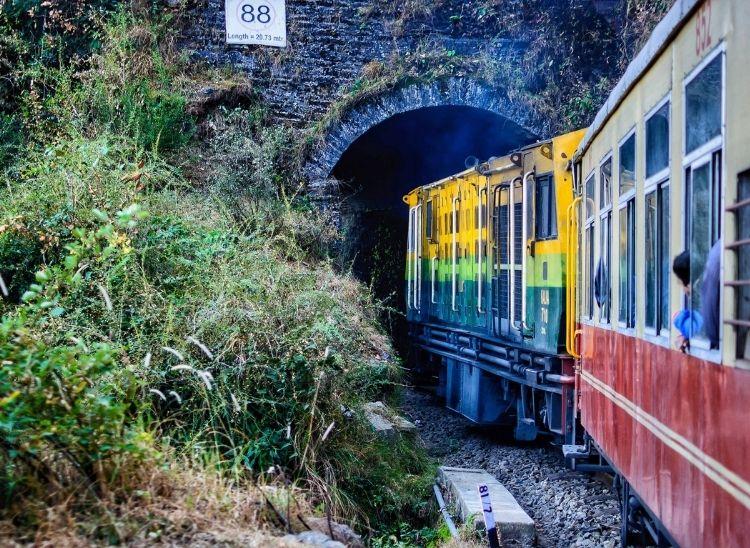 View of Kalka-Shimla Railway | Top 5 Mountain Railway Toy Trains In India