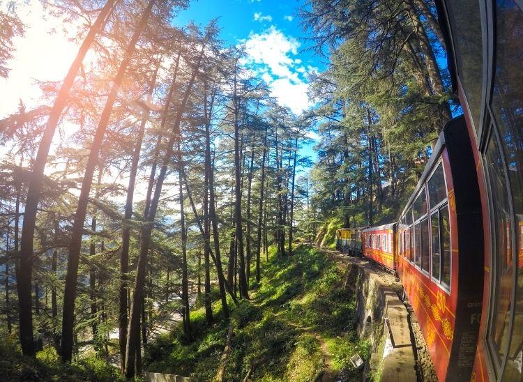View of Matheran Hill Railway | Top 5 Mountain Railway Toy Trains In India
