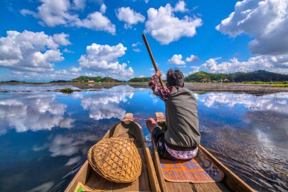 The World's Only Floating National Park: Loktak Lake | Travelature