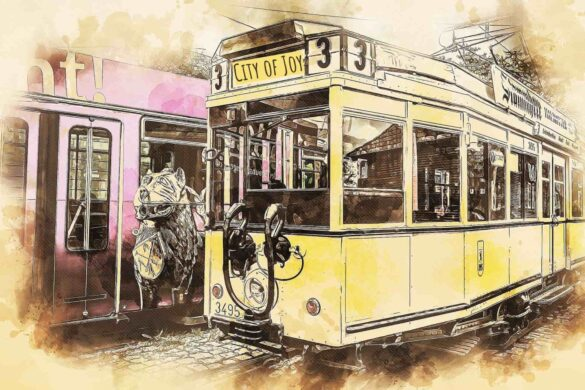 Tales of History #02: Trams and Calcutta-The Love Story!   Travelature
