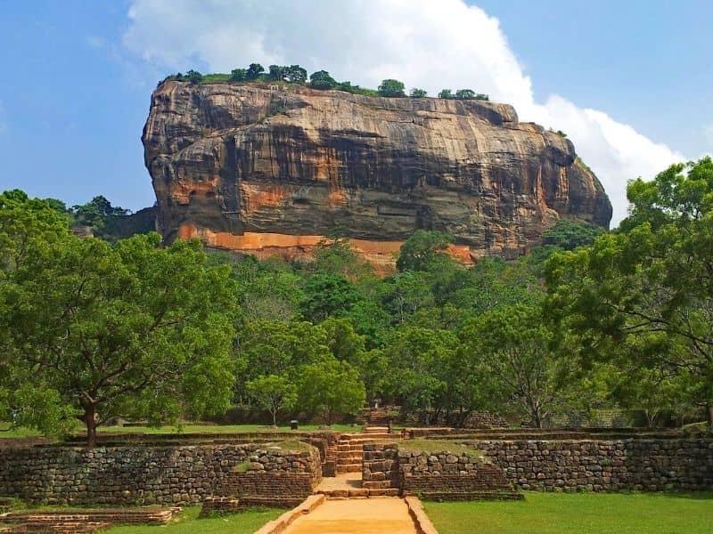 History Of Ancient Rock Fortress In Sigiriya, Sri Lanka