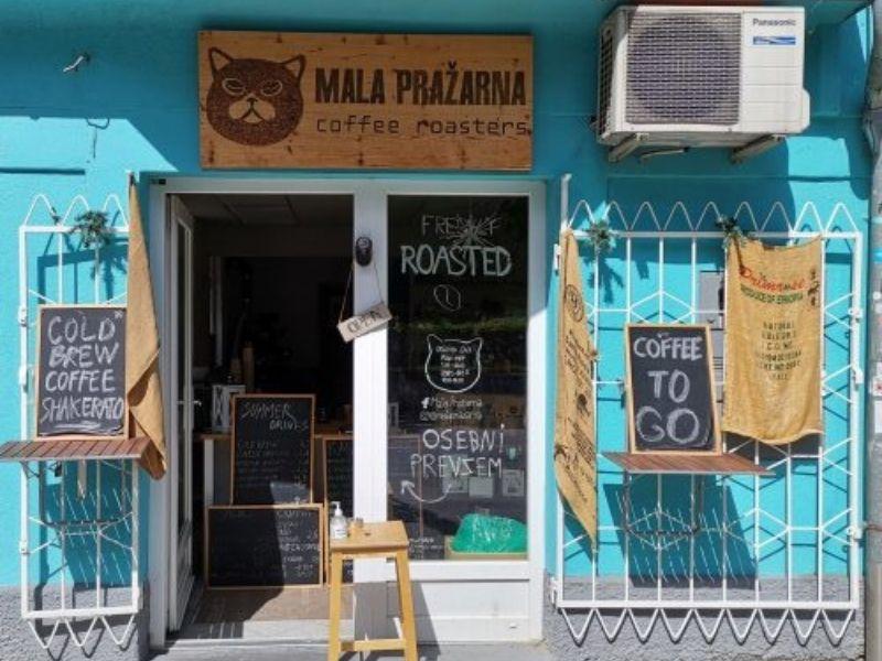 Mala Pražarna is a sweet shop in the capital city of Ljubljana that serves the best roasted coffee   Top local vibes to feel in Ljubljana