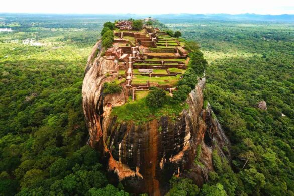 Climb 1200 Steps to the Stunning 'Ancient Rock Fortress' of Sri Lanka | Things to see and do