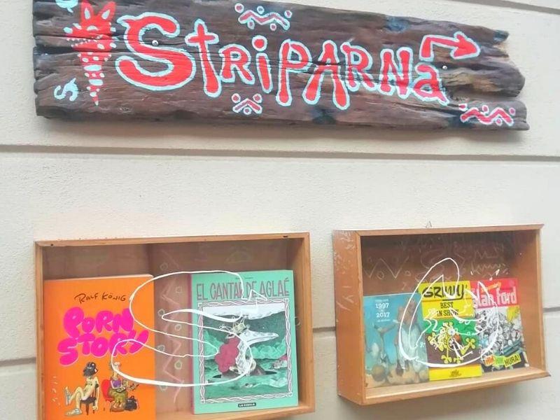 Striparna Stripolis, a comic book store in ljubljana city   Top local attraction to visit