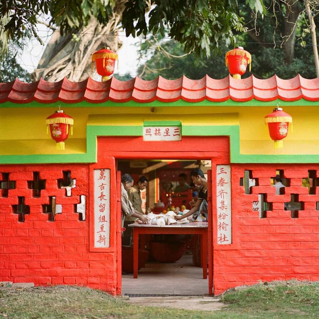 Chinese Temple in Achipur   India's first chinese settler   Kolkata's Chinatown